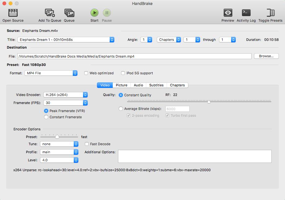 【ZALRA】Handbrake/最强 视频转码/压缩软件 基本不损失画面 压缩比达80%